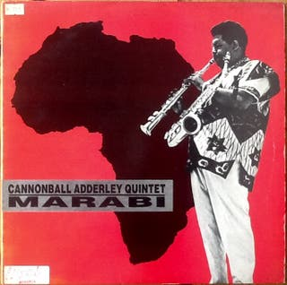 "CANNONBALL ADDERLEY ""MARABI"" maxi-12"""