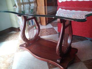 Mesa de centro diseño arpa