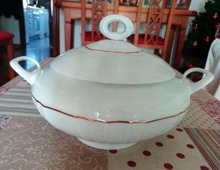 Sopera de porcelana Vintage Irabia