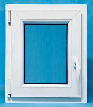 Ventana PVC Baño 500x600 Oscilobatiente Izquierda