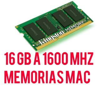 4 MODULOS 16 GB Ram DDR3 a 1600
