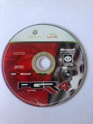 PGR4 - juego Xbox 360