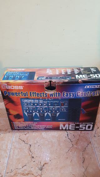 Pedal Boss ME-50 multiefectos
