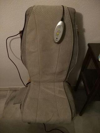 Sillón cojín masajes eléctrico