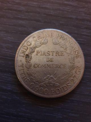 2 monedas indo-chinas 1905