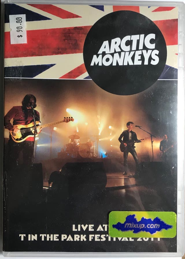 DVD Arctic Monkeys Live At T In The Park