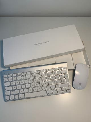 Ratón + Teclado inalámbrico de Apple