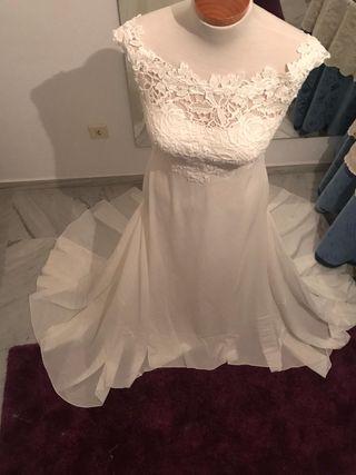 Vestido de novia (pronovias) boda