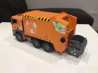 Camión recolector residuos