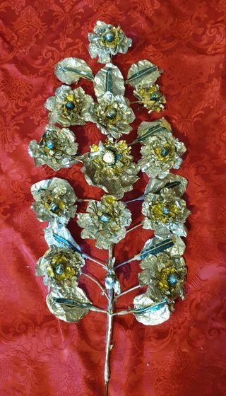 Ramos individuales flores de talco