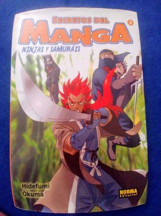 Secretos del manga, ninjas y samuráis