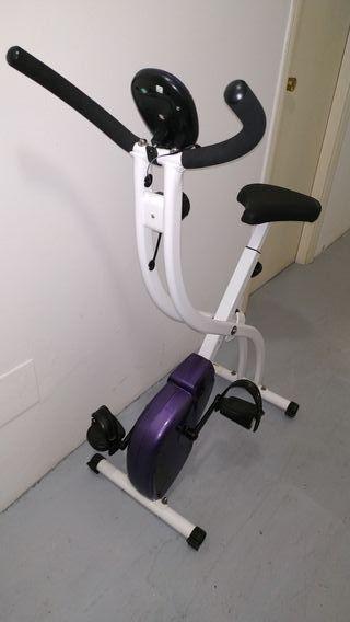 bicicleta estática plegable resistencia variable