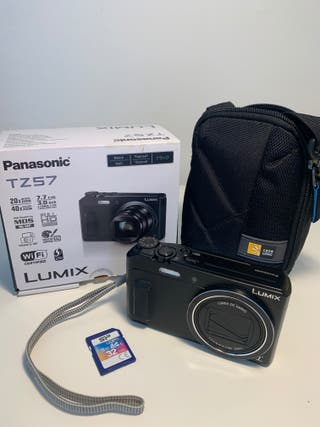 Cámara fotos digital Panasonic TZ57 Lumix