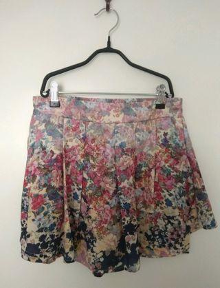 falda pantalón nueva
