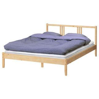 Cama Ikea madera