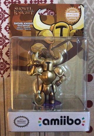 Amiibo gold shovel knight