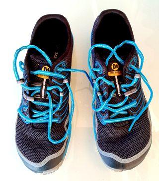 Zapatillas Natural running de 5 dedos