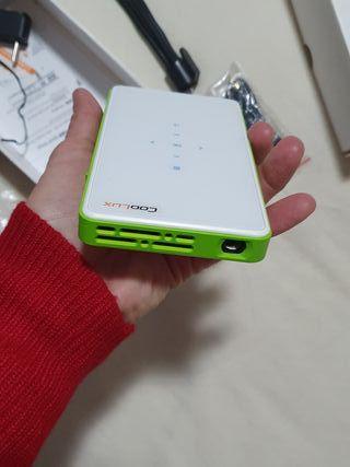 regalo navidad mini proyector coolux Q6