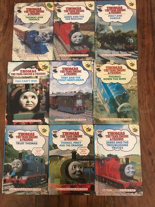Libros Thomas pack de 9