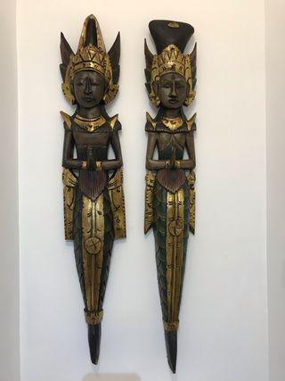 Esculturas madera buda