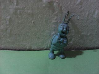 Antigua figura dunkin monocromo azul