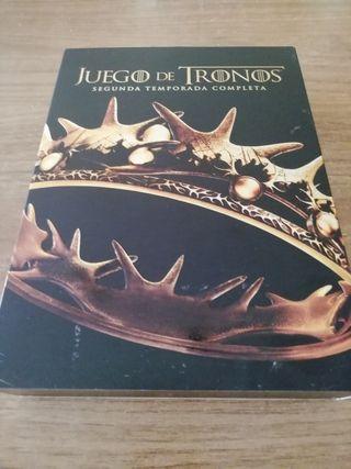 JUEGO DE TRONOS. SEGUNDA TEMPORADA DVD.