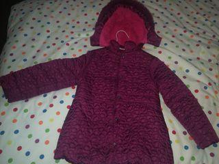 abrigo niña talla 5 años