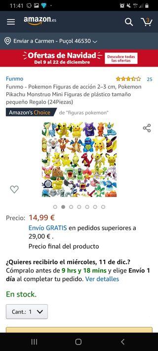 Figuritas Pokémon nuevas