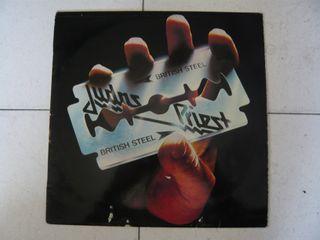 Disco vinilo LP Judas Priest British steel