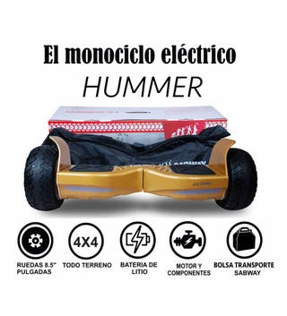 Scooter eléctrico Hummer S8