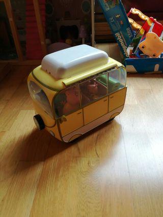 vendo caravana de Pepa Pig