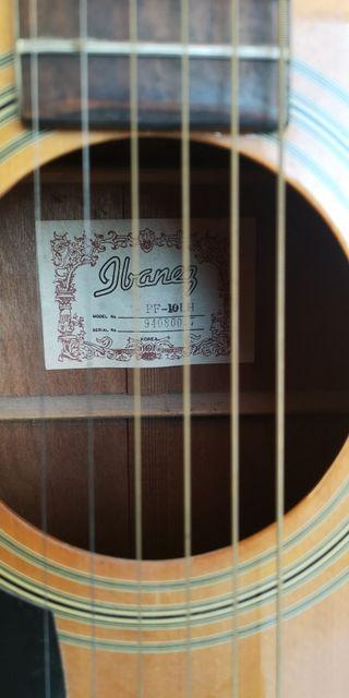 Guitarra flamenca Ibáñez para zurdos