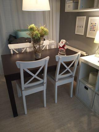 Mesa Ikea extensible de Comedor