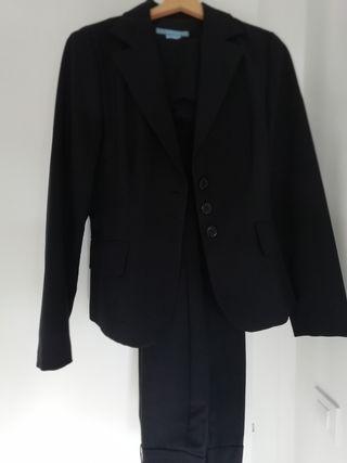 Traje de chaqueta y pantalón mujer