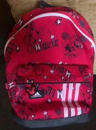 Mochila-cartera Minnie Mouse ADIDAS ¡NUEVA!