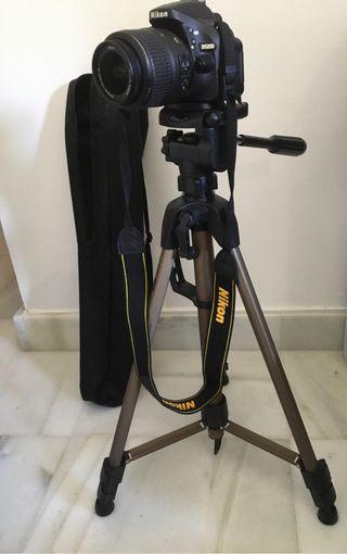 Cámara réflex digital Nikon D5200