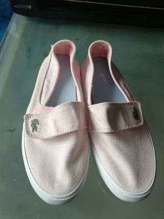 zapatillas niña Lacoste auténticas talla 32