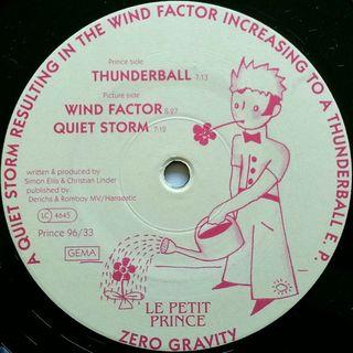 Disco vinilo Zero Gravity Thunderball