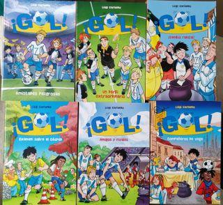 """Lote de 6 libros infantiles """"Serie Gol!"""" nº19-24"""