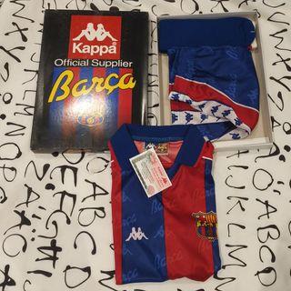 kit Fc Barcelona 92-95 nuevo