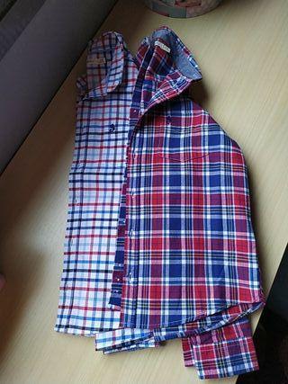 Lote 2 camisas Sfera 7-8 años