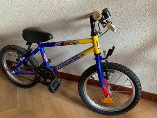 Bici de 16 pulgadas por 18€