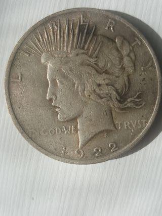 dolar liberty de plata 1922