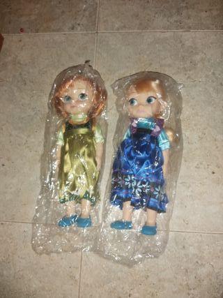 Anna y Elsa niñas