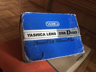 Objetivos Yashica DSB Duo