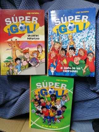 """Lote de 3 libros infantiles """"Súper ¡Gol!"""""""