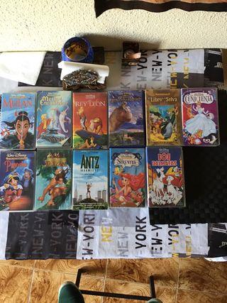 Películas clásicas Disney VHS