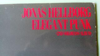 Lp Vinilo Jonas Hellborg Elegant Punk bajo solo