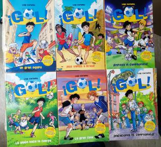 """Lote de 6 libros infantiles """"Serie Gol!"""" nº 1-6"""