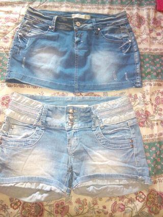 pantalon y falda